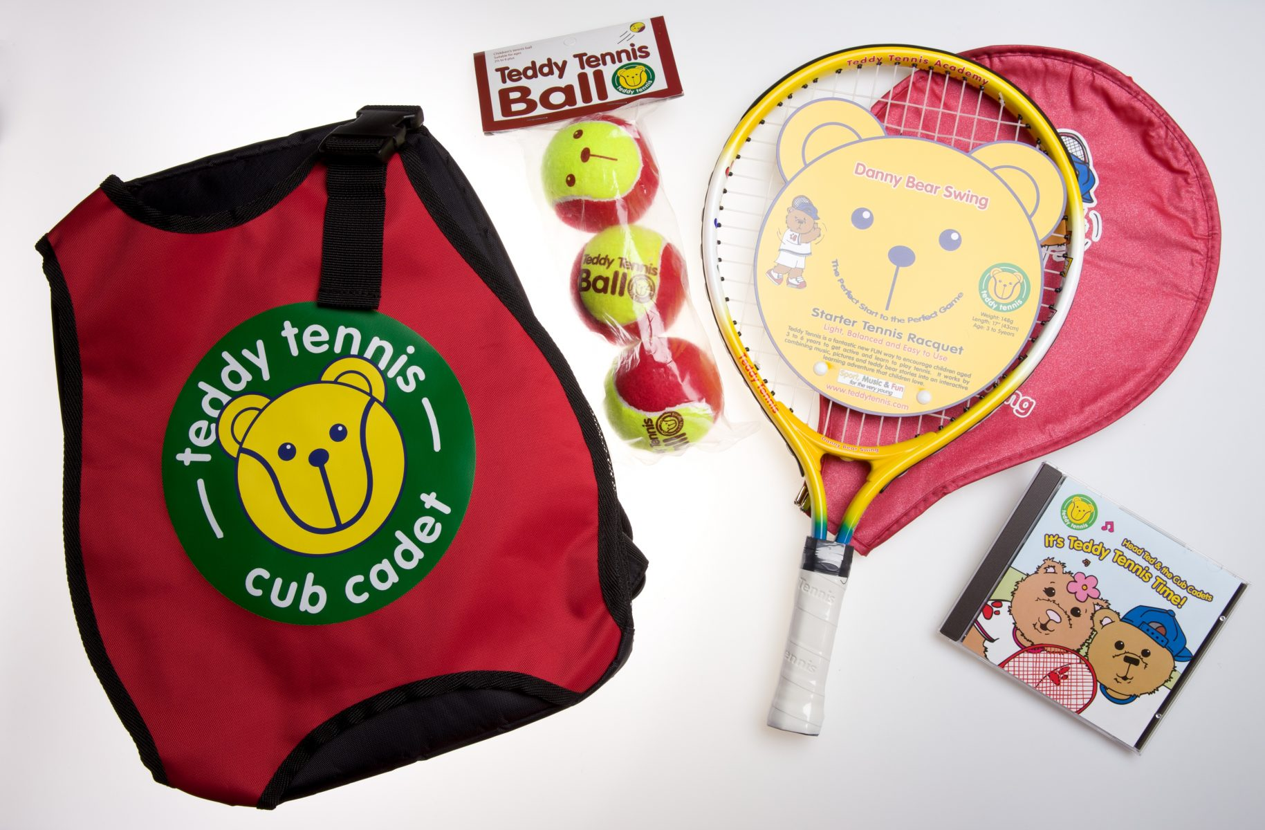 Tennis Set For Children Aged 2½ To 4 Years