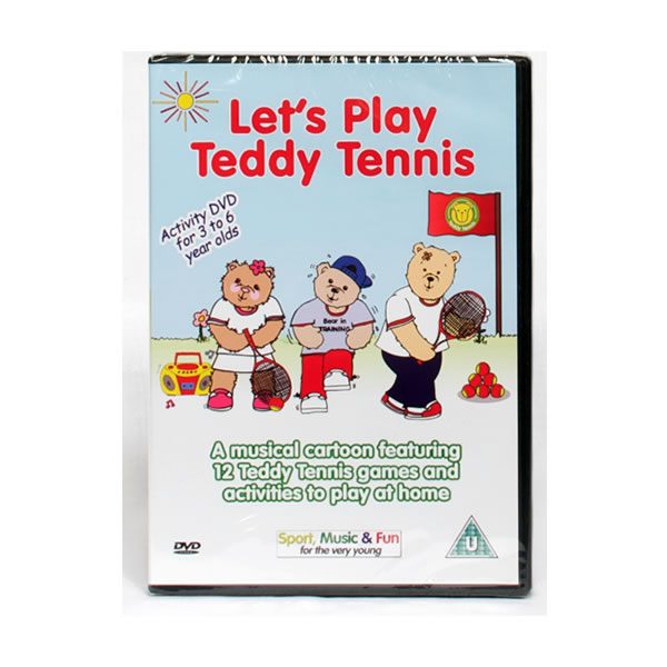 Teddy Tennis Animated DVD – Let's Play Teddy Tennis