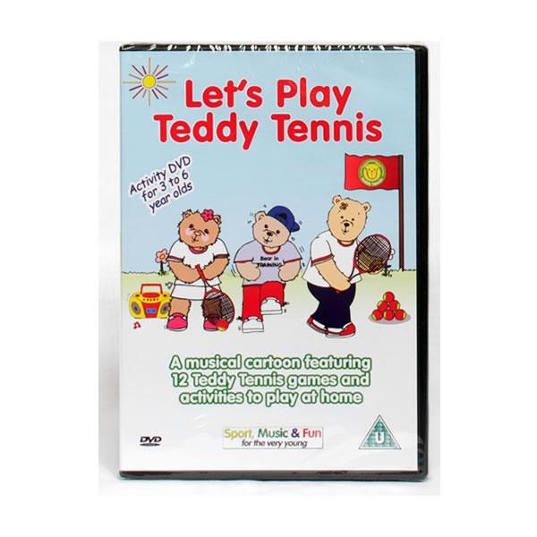 Teddy Tennis Animated DVD – Let's Play Teddy Tennis